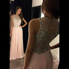 Wedding Evening Dress Party Cocktail Beaded Formal Pageant Celebrity Prom Gowns