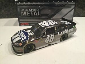 1/24 2012 JIMMIE JOHNSON #48 LOWES BRUSHED METAL 016 of 189 Made XRARE