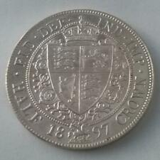 More details for 1897 half crown coin silver queen victoria uncirculated