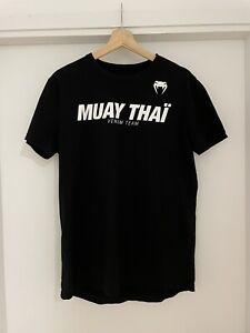 VENUM Muay Thai T-Shirt Size Large UFC MMA Training Tee