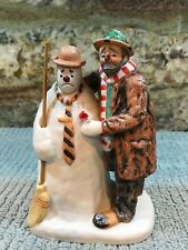Emmett kelly circus collection Ltd 4709/15000 Dgc'91 Collectible