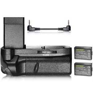 Neewer Vertical Battery Grip, 2-Pack 1020mAh LP-E10 Li-ion Replacement Battery