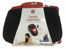 "Laptop Essentials Neoprene Laptop Sleeve 15.6"" & Wireless Optical Mouse"