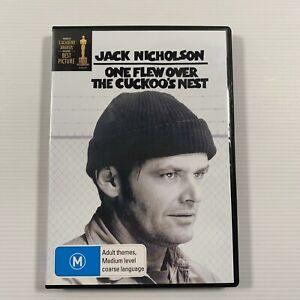 One Flew Over The Cuckoo's Nest (DVD, 1999) 1975 film Jack Nicholson Region 4
