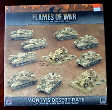Monty's Desert Rats BRAB09 British Flames of War FOW