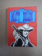 MATT DILLON Harry Bishop Bliblioteca  n°5 1977 Avventuroso Pocket [G760B]