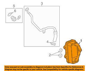 GM OEM-Engine Oil Cooler 12662732
