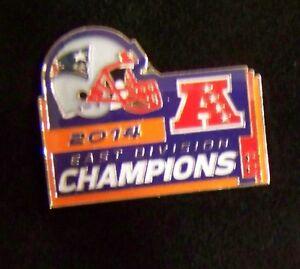 2015 AFC East Division Champions pin New England Patriots Super Bowl 49 SB XLIX
