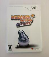 Nintendo Wii Mercury Meltdown Revolution 2007 Puzzle Game Single Player-Tested