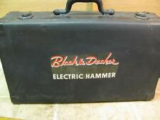 Vintage Black & Decker Electric Hammer Drill Case Only Tool Box