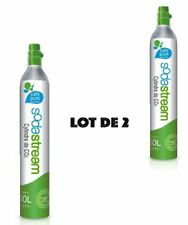 SODASTREAM - Lot de 2 cylindres de recharge gaz CO2