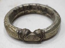 Bracelet Bedowin Silver Cuff Armlet Tribal Old Bracelet
