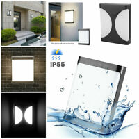 Waterproof Outdoor Wall Lamp LED Light Sconce Garden Balcony Porch Garages Decor