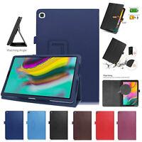 Custodia pelle Per Galaxy Tab S5e T720 T725 Magnetico Stand Libro Smart Cover