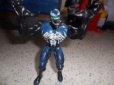 "1997 Vintage Spider-Man Blue Venom Action Figure ToyBiz Marvel Legends 5"""