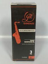 One Box of 5 GONZALEZ CLASSIC CUT Bb TENOR SAX REEDS #2