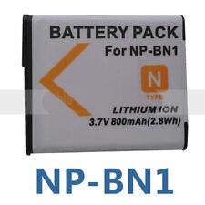 NP-BN1 Battery For Sony BC-CSN BC-TRN Cyber-Shot DSC-T99 TX5B TX7R TX9H DSC-W350