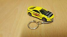 Diecast Toyota Celica Yellow Keyring / Keychain NEW