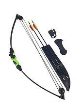 Genuine Archery Wildcat Kids Junior Compound Bow and Arrow Fun Garden Set 12lb