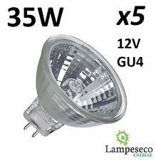 5 Ampoules dichroique halogène à économie d'énergie MR11 GU4 12V 35W (25W)