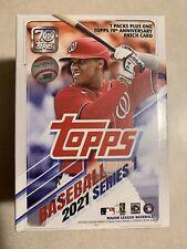 Topps 2021 Series 1 Baseball Trading Cards Relic Box