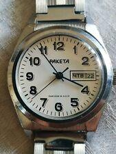 Soviet watch RAKETA Mechanical Vintage Wristwatch USSR Serviced 2628.H RARE