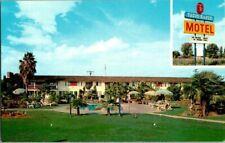 1970'S. TAGUS RANCH MOTEL. TULARE, CA. POSTCARD UPA6