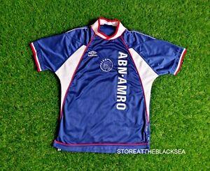 AJAX AMSTERDAM 1999 2000 AWAY FOOTBALL SOCCER SHIRT JERSEY TRIKOT MAILLOT M