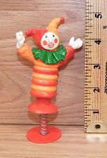 "Vintage Hallmark Cards ""Clown / Jester"" Pop Up Spring Toy Figure Only *Read*"