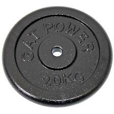20kg Hantelscheibe Hantel Scheibe Stahl guss Hantelgewicht Gewicht 30 mm