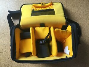 Kata Camera Bag DC445-DL black and yellow interior
