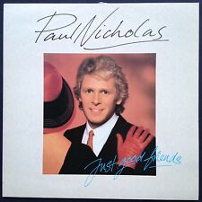 Paul Nicholas JUST GOOD FRIENDS TV soundtrack pop LP '86 Billy Joel Peter Cetera