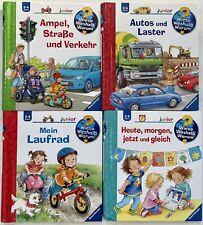 Kinder Lernbücher - Wieso Weshalb Warum? Junior 2-4 Jahre 4 Bücher