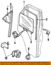Dodge CHRYSLER OEM 84-94 B250 Door-Weatherstrip Seal Left 4161675
