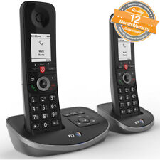 BT Advanced Twin Digital Cordless Answerphone with Advanced Call Blocker - Black