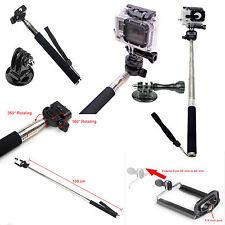 GoPro Accessories Monopod Ski Pole Handle with tripod mount Bonus Screw