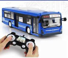 2.4G Remote Control Bus Car Charging Electric Open Door RC Car Model