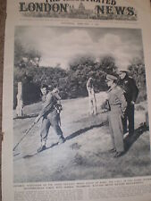 Photo article General Harold Alexander and Admiral Troubridge 1944 ref Z2