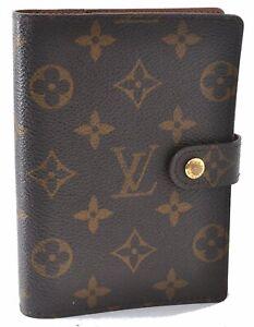 Authentic Louis Vuitton Monogram Agenda PM Day Planner Cover R20005 LV D9718