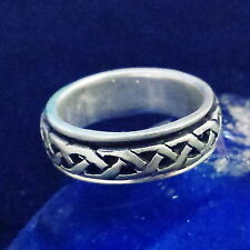 SPINNING Ring 925 Silber Silver Gothic