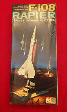 ITC - F-108 Rapier w/Launching Platform - Model Kit # 3663-149 - Rare- Hard to F