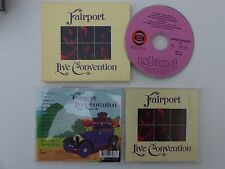CD ALBUM FAIRPORT CONVENTION LIVE  IMCD 311
