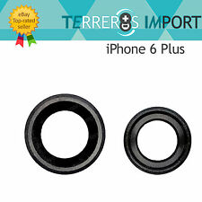 Lente Camara Trasera Embellecedor Negro para iPhone 6 Plus