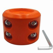 New listing Atv-Schs Winch Cable Hook Stopper Rubber Winch Line Saver with Allen Wrench f.