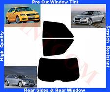 Passgenaue Tönungsfolie Audi A3 3T 2003-2010 Heck/Seitenscheiben 5%-50%