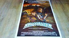 LE GUERRIER DE L'ESPACE spacehunter ! affiche cinema