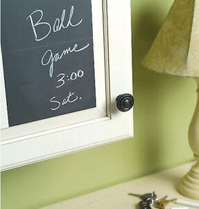 WALLIES Slate Gray CHALKBOARDS wall stickers 4 vinyl decals peel & stick decor