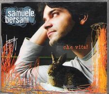 "SAMUELE BERSANI - RARO CDs PROMO "" CHE VITA ! """