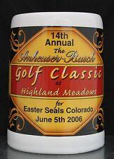 Budweiser 2006 Colorado Easter Seal Society Anheuser Busch Golf Classic Stein