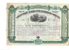 Flint Perre Marquette Railroad Company  1881  U:P ortter